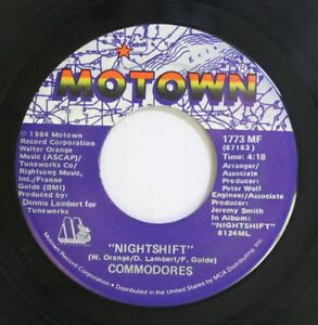 Details about Soul 45 Commodores - Nightshift / I Keep Running On Motown