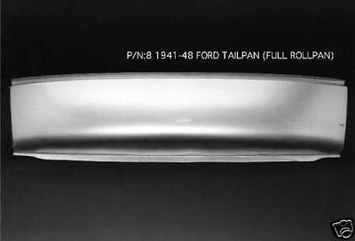 Ford 1939-1940 Coupe Tailpan Tail Pan Without Bumper Slots #31 EMS