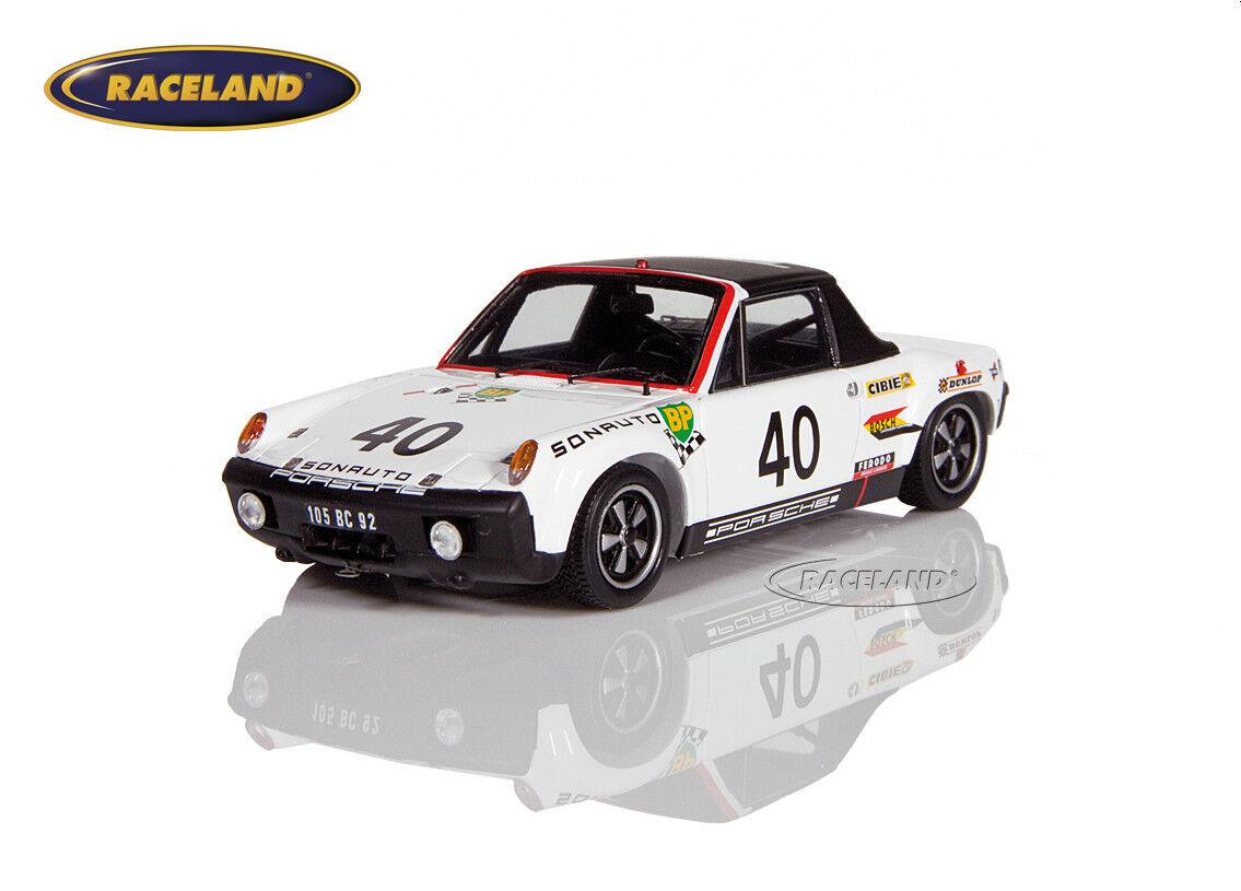 Porsche 914 6 gt Le Mans 1970 vencedores GTS Ballot-sindicalismo chasseuil, Spark 1 43 s7506