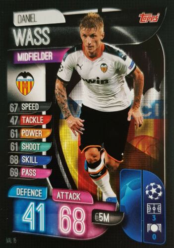Topps Match Attax Champions League 2019//2020 Valencia Real Barca Atletico