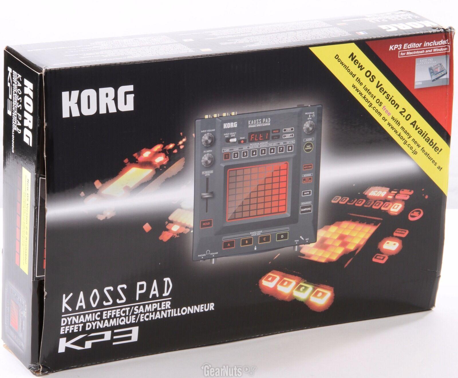 Korg Kaoss Pad KP3 + Zubehör (Sampler, DJ ,Controller) + Netzteil    OVP