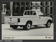 PRESS - FOTO/PHOTO/PICTURE - Volkswagen Taro 1989
