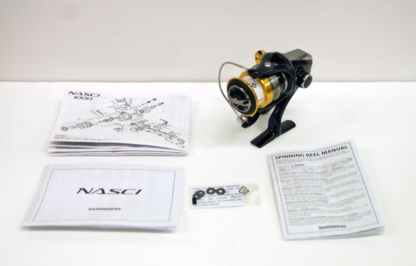 Shimano 16 16 16 Nasci 1000 Spinning Reel 4969363035677 ee0c50