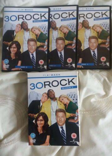 1 of 1 - 30 Rock - Series 3 - Complete (DVD, 2010, 3-Disc Set)