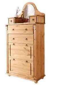 schuhschrank kiefernholz in gelaugt ge lt schuhkommode dielenschrank vertiko ebay. Black Bedroom Furniture Sets. Home Design Ideas