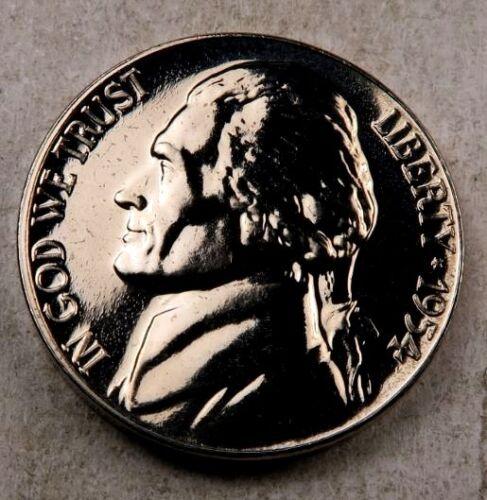 1954 Jefferson Nickel //// Gem Proof+ FS* //// 1 Coin 1 *Full Steps