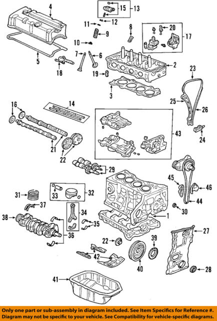 Cam Sprocket Gear Exhaust for Honda Civic Acura RSX K20 K24 for sale online  | eBay | Acura K20a2 Engine Diagram |  | eBay