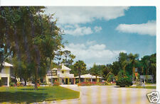 America Postcard - Silver Springs Motor Court, Silver Springs, Florida   CC257