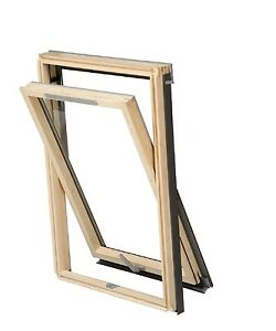 RoofLITE-VELUX-style-DVX-Centre-Pivot-Pine-Roof-Window-and-Flashing-Package