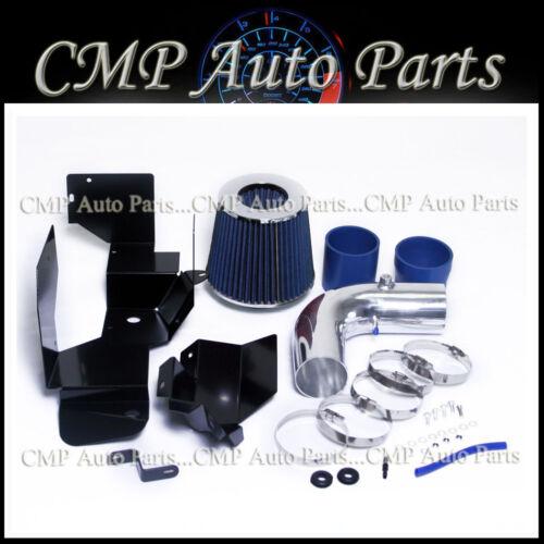 BLUE HEATSHIELD AIR INTAKE KIT FIT 2007-2012 VW BEETLE EOS TIGUAN 2.0L ENGINE