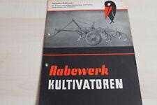 144111) rabewerk remolcador-cultivadora Raku folleto 09/1954