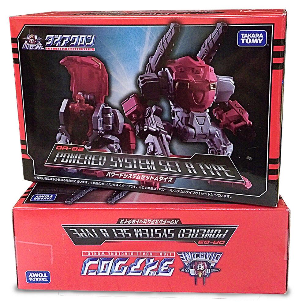Transformers Diaclone 1 60 Scale DA-02 Powered System Set A Type Takara NEW UK