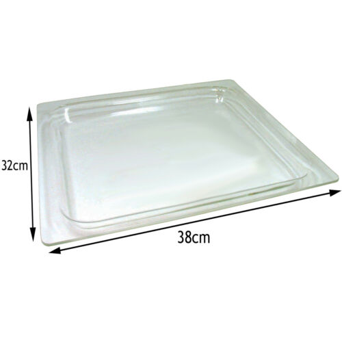 BOSCH Genuine Microwave /& Oven Cooker Glass Tray 38 x 32 x 1.8 cm