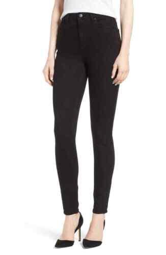 Waist High Størrelse Dl1961 Black Jeans Hail Skinny Ultra Chrissy 33 RnnxUH