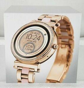 Michael-Kors-MKT5041-Access-Women-039-s-Sofie-Touchscreen-Smartwatch-Rose-Gold