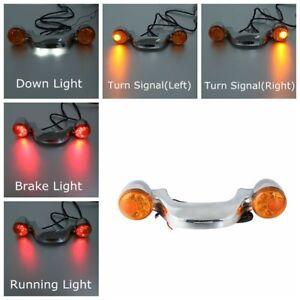 Home Rear Turn Signal Brake Light Bar For Harley Street Glide Road Glide 2010-up New Flhx Fltr