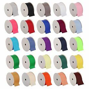 Grosgrain-Ribbon-3-8-034-7-8-034-1-1-2-034-2-1-4-034-widths-10-yd-rolls-25-colors-Free-Ship