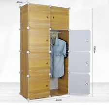PLASTIC WARDROBE CUPBOARD ALMIRAH -LKL-36- WC- LY