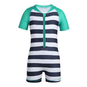 ad6a82c446 Baby Boys Girls One Piece Swimsuit Sun Protection Swimming Surf Suit ...