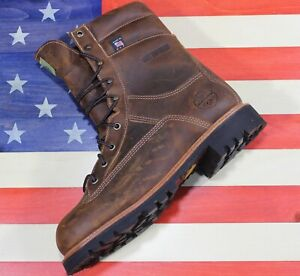 Wood-N-Stream-9-034-Crazyhorse-Brown-Leather-Hunting-Boot-7005-Fact2nd-USA-Made