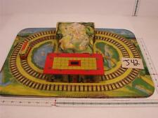 J42 VINTAGE MYSTERY ALPINE EXPRESS PRESSED STEEL WIND-UP TRAIN  AUTOMATIC TOY Co