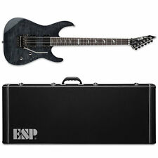 ESP LTD M-1001 See Thru Black STBLK Electric Guitar + Hardshell Case M1001 FR