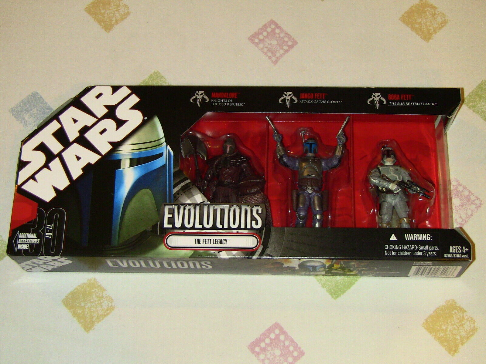 Hasbro Star Wars Evolutions The Fett Legacy Action Figure Set of 3 NEW MIMB
