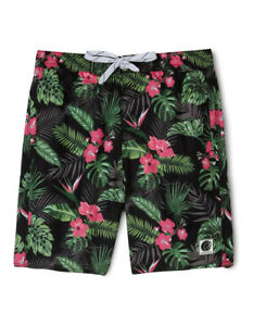 NEW-Bauhaus-Tropical-Palm-Print-Boardie-Assorted