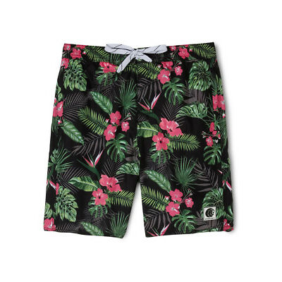 NEW Bauhaus Tropical Palm Print Boardie Assorted