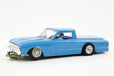 1960's Ford Ranchero Vintage SLOT CAR 1/24TH SCALE Custom Toy w/ Driver