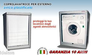 Barbecues, Grills & Smokers Garantita 10 Anni Colore Bianco Coprilavatrice Balcone A Serrandina