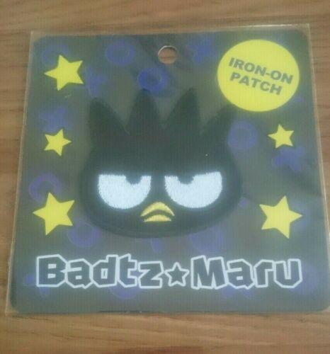 2009 Sanrio Badtz Maru Iron-on Patch