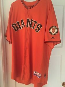 the best attitude 58e11 1385c Details about San Francisco Giants Buster Posey Jersey 56