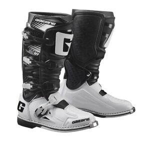 nuovi arrivi d10d1 c6b66 Dettagli su Stivali Moto GAERNE SG-10 NERO/BIANCO 2190-014 taglia 43