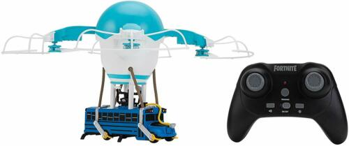 Fortnite Battle Bus Drone Remote Control Micro USB Lights Sounds Kid Car Gift