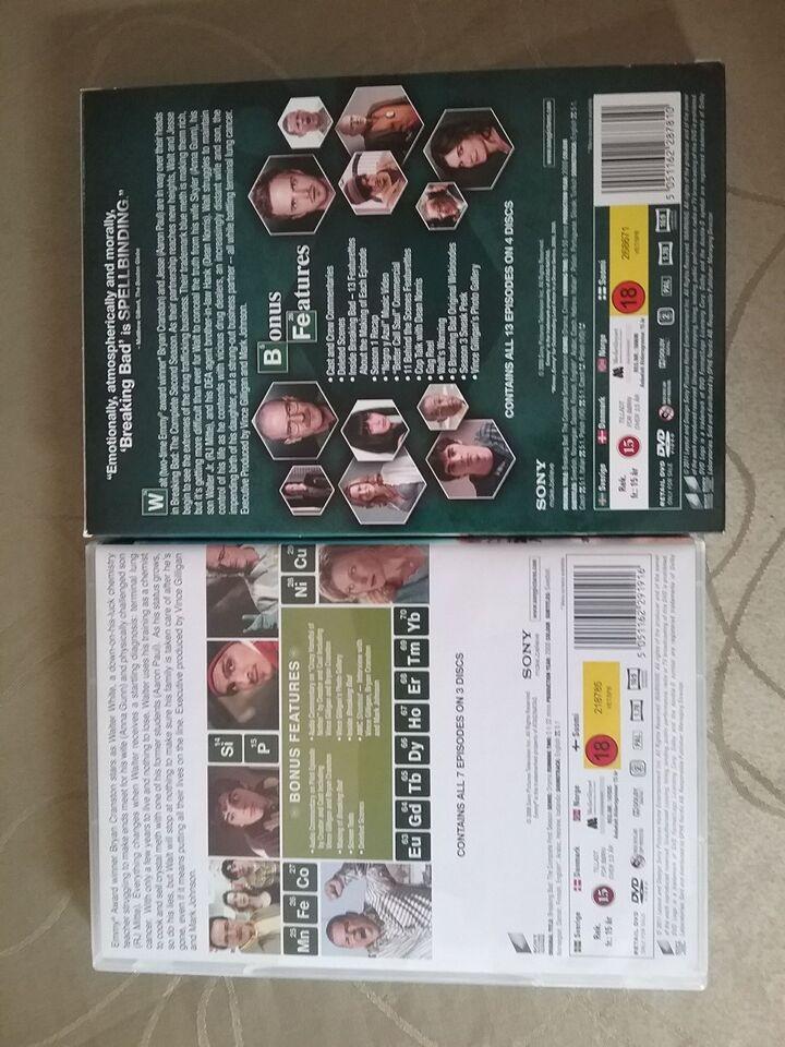 Breaking Bad, DVD, TV-serier