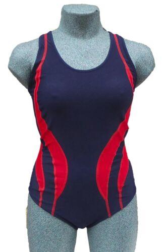 Chex Fitness Messico Donna Costume Da Bagno Swim Suit Racer legato indietro Lycra