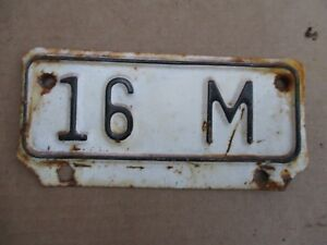 Vintage-Kansas-License-Plate-Topper-16M-Truck-Ford-Dodge-Chevy-International