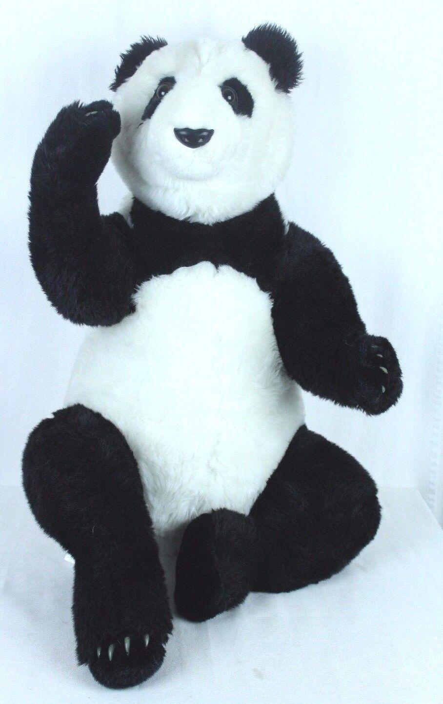 Large Panda Bear Jumbo Plush Toy 25  Sitting Panda