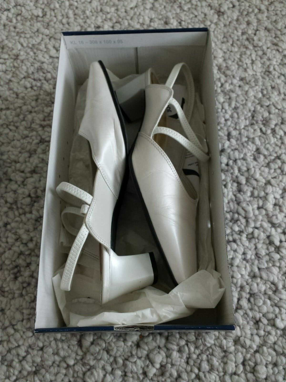 Beautiful Bridal Shoes in Cream, Size 38