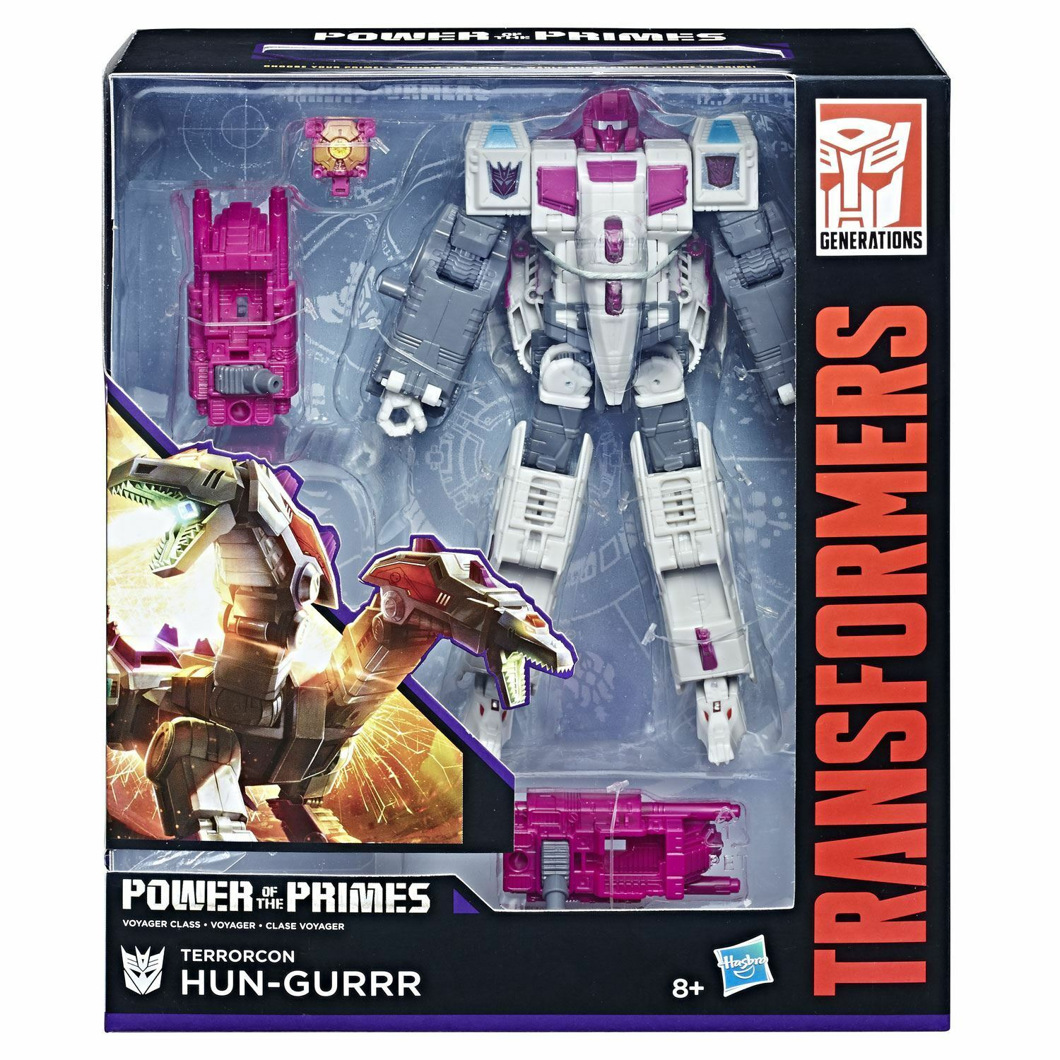 Transformers Generations Power of the Primes Voyager Class Class Class Terrorcon HUN-GURR b719a5