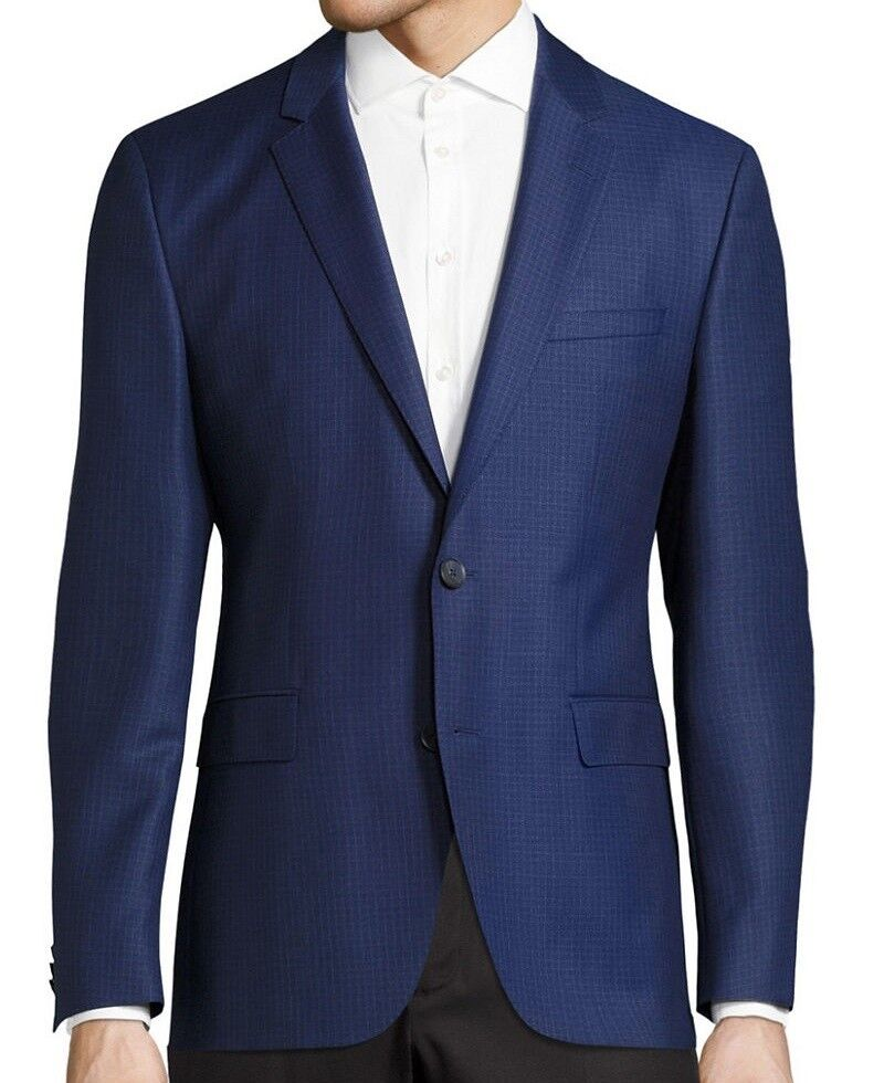 NWT HUGO Hugo Boss ROT Label By Hugo Boss Slim Fit Virgin Wool Sport Coat Blazer