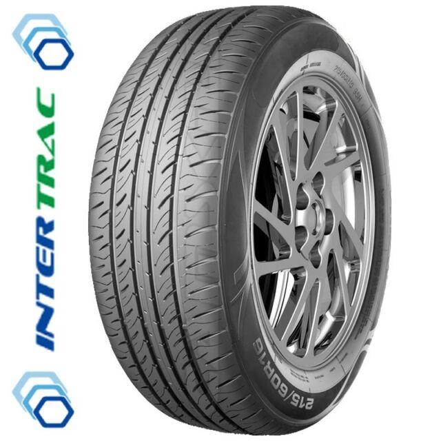 215 55 16 x2 Car Tyre Intertrac TC515 97 W Economy All-Weather