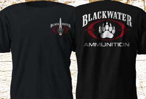 New BLACKWATER AMMUNITION ACADEMI US Military Black T Shirt S-4XL