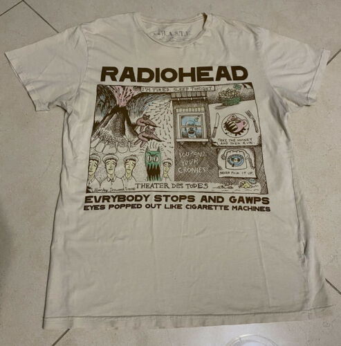 Radiohead VINTAGE Cigarette Machines 2000 CRAZY GR