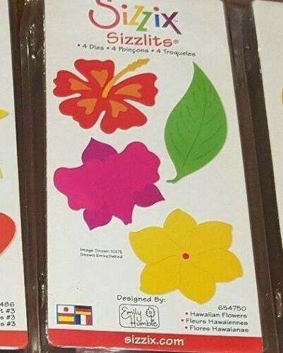 Sizzix Sizzlits 4 x Dies in Pack Various designs available
