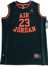 080ec68d38c item 5 NIKE AIR JORDAN 23 Basketball Boys Jersey Youth Size LARGE Black Red  Sewn NWT -NIKE AIR JORDAN 23 Basketball Boys Jersey Youth Size LARGE Black  Red ...