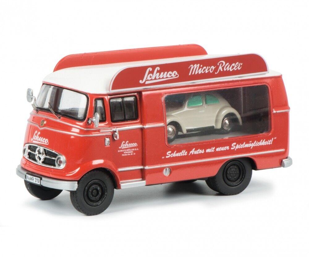 MERCEDES BENZ LKW L319 L 319 Werbe LKW LKW LKW + Micro Racer Käfer Schuco 1 43 8a566b