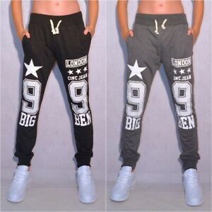 Coole Kinder Jungen Damen Sweat Freizeit Hose Sporthose STARS London 99 Big Ben