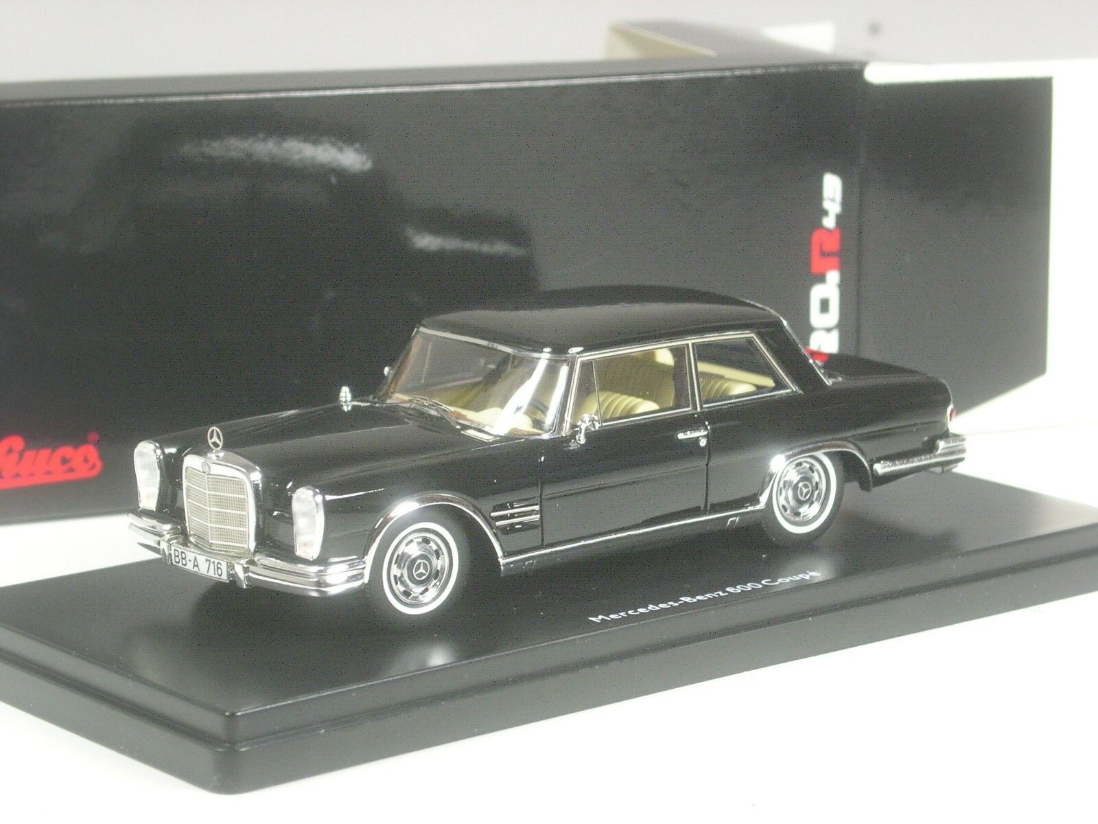 (ki-06-19) Schuco pro. r Mercedes-Benz 600 Coupé en 1 43 dans neuf dans sa boîte